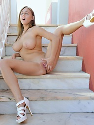 Staircase To Heaven.. featuring Viola | Twistys.com
