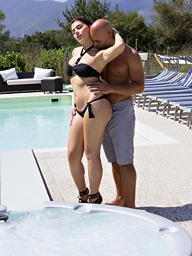 Hawt At The Swimming Pool.. featuring Valentina Nappi | Twistys.com