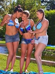 Candy Sexton & Cherry Blush & Emma Leigh aka Emma