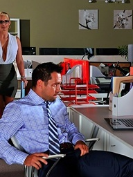 Phoenix Marie above 21Sextury.Com - Overtime not far from the office