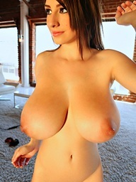 September showing her biggest racks and gorgeous body